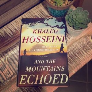 """""""And the Mountains Echoed"""" hardcover"""